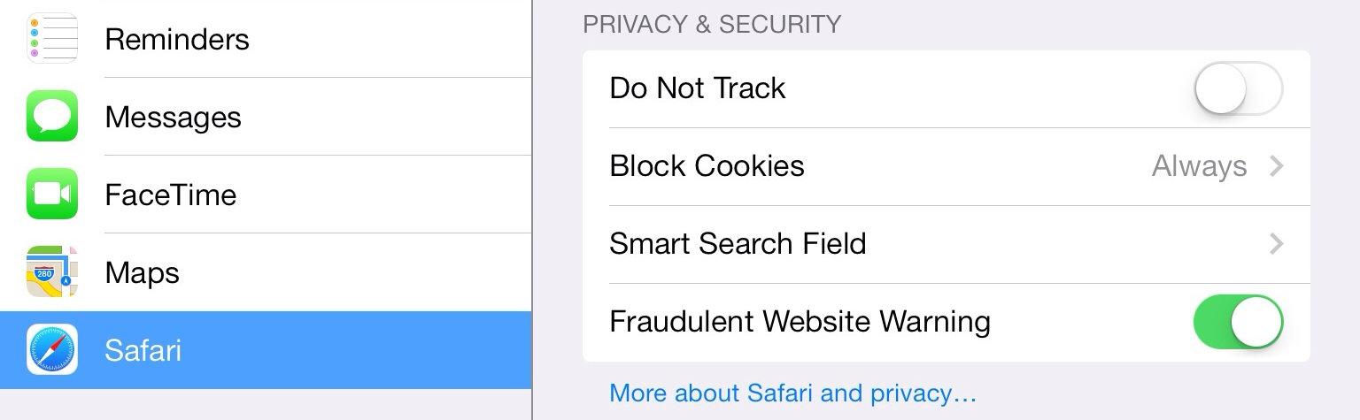 how to delete cookies on ipad google
